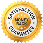 Image depicting Our 100% Money-Back Satisfaction Guarantee.